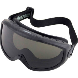 sellstrom® s80226 odyssey fire goggle smoke lens, adjustable fr strap