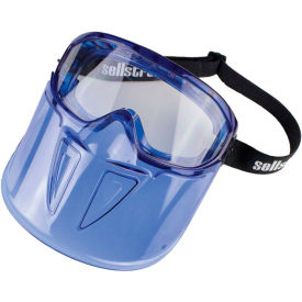 sellstrom® s80300 gps300 premium safety goggle, detachable face shield
