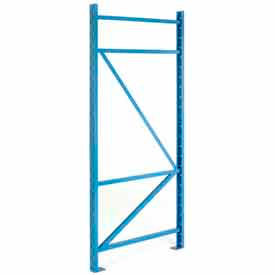 "BCF4L036096PB SK3000; Structural Channel Pallet Rack - 36""W X 96""D Upright"