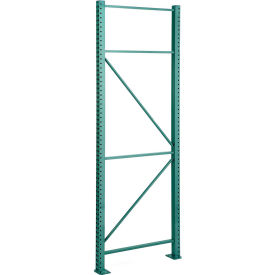 "Steel King® SK2000® Boltless Pallet Rack - 42""W X 144""H Upright Frame, 27,790 lb Cap."