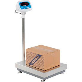 "816965001644 Brecknell S100 Bench Digital Scale 600 lb x 0.1 lb, 22"" x 18"""