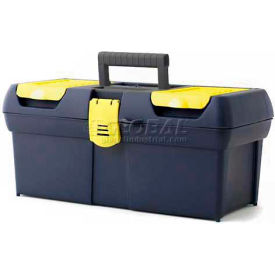 "016011R Stanley 016011R 016011r, 16"" Series 2000 Tool Box With Plastic Latch"