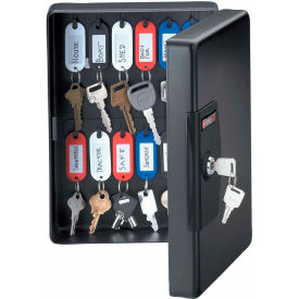 "KB25 SentrySafe 25 Key Capacity, Key Box, Key Lock, 7-7/16""W x 3-7/16""D x 9-13/16""H, Black"