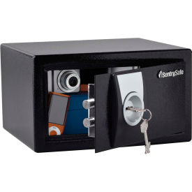 "X031BLK SentrySafe Security Safe X031 - 11-3/8""W x 10-3/8""D x 6-5/8""H, Black"
