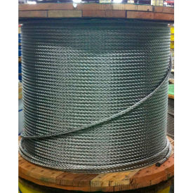 "001900-00191 Southern Wire; 250 3/16"" Diameter 7x19 Type 304 Stainless Steel Cable"