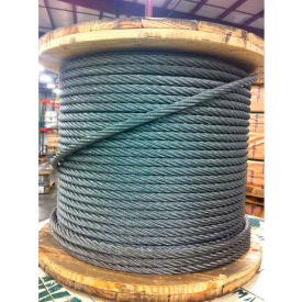 "002700-00060 Southern Wire; 250 1/2"" Dia. 6x19 Improved Plow Steel Galvanized Wire Rope"
