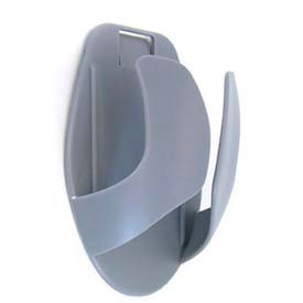 ergotron® mouse holder, dark gray Ergotron® Mouse Holder, Dark Gray