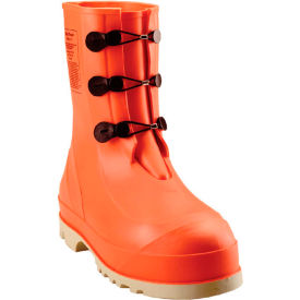 82330.10 Tingley; 82330 HazProof; Steel Toe Boots, Orange/Cream, Sure Grip Outsole, Size 10
