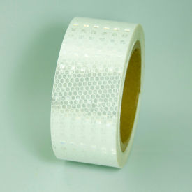 "HRT230WH Super Brite Reflective Tape, White, 2""W x 30L Roll, HRT230WH"