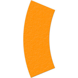 floor marking tape, orange, arc shape, 25/pkg., lm140n