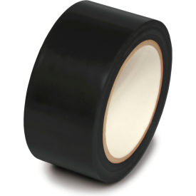 "PST215 Floor Marking Aisle Tape, Black, 2""W x 108L Roll, PST215"