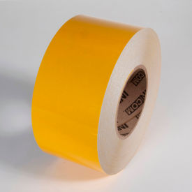 "reflective marking tape, yellow, 4""w x 150l roll, rst554"