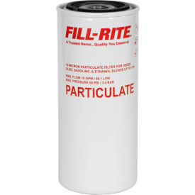 F1810PM0 Fill-Rite F1810PM0, 18 GPM Particulate Spin on Filter, 18 GPM, In-line