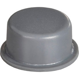 "non-skid rubber feet - cylindrical flat top - gray - 0.250"" h x 0.500"" w - bs06 - pkg of 5000 Non-Skid Rubber Feet - Cylindrical Flat Top - Gray - 0.250"" H x 0.500"" W - BS06 - Pkg of 5000"