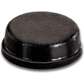 "non-skid rubber feet - cylindrical flat top - black - 0.125"" h x 0.375"" w - bs34 - pkg of 6000 Non-Skid Rubber Feet - Cylindrical Flat Top - Black - 0.125"" H x 0.375"" W - BS34 - Pkg of 6000"