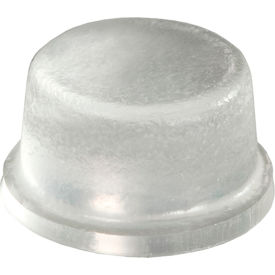 "non-skid rubber feet - cylindrical flat top - clear - 0.190"" h x 0.375"" w - bs35 - pkg of 5000 Non-Skid Rubber Feet - Cylindrical Flat Top - Clear - 0.190"" H x 0.375"" W - BS35 - Pkg of 5000"