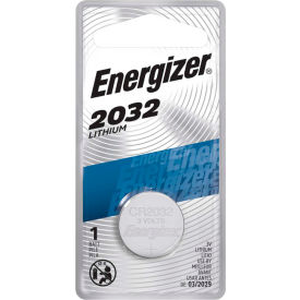 ECR2032BP / E0886300 Energizer; 3.0V Miniature Battery, 1 Battery per Pack