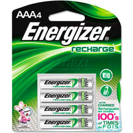 NH12BP-4 / E0917200 Energizer; AAA e? NiMH Rechargeable Batteries 4 per Pack