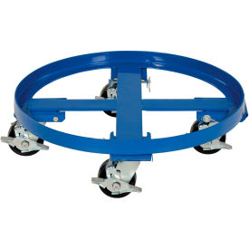 drum dolly drum-hd with nylon wheels for 55 gallon drums - 2000 lb. capacity