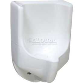 "Waterless No-Flush Urinal Sonora 18"" W High Performance Composite"