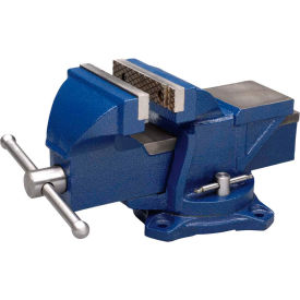 "11104 Wilton 11104 4"" Jaw Width 2-1/4"" Throat Depth General Purpose Bench Vise With Swivel Base"
