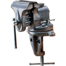 "33153 Wilton 33153 Model 153 3"" Jaw Width 2-1/2"" Opening 2-5/8"" Throat Depth Clamp-On Bench Vise"