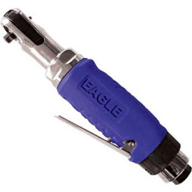 "eagle professional grade 1/4"" mini air ratchet wrench ega-220"