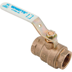 "0555104 Watts 1"" LF FBV-3C Ball Valve"
