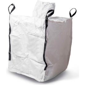 commercial fibc bulk bags - spout top, spout bottom 3000 lbs uncoated pp, 35 x 35 x 46 - pack of 1 Commercial FIBC Bulk Bags - Spout Top, Spout Bottom 3000 Lbs Uncoated PP, 35 x 35 x 46 - Pack Of 1