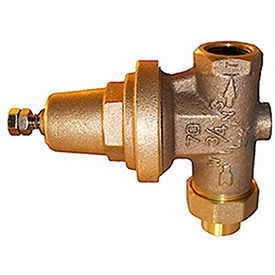 zurn 1-70xl pressure reducing valve, lead-free, fnpt single union x fnpt Zurn 1-70XL Pressure Reducing Valve, Lead-Free, FNPT Single Union x FNPT