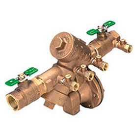 zurn 1-975xl2 1 in. fnpt x fnpt reduced pressure principle assembly - 175 psi -lead-free cast bronze Zurn 1-975XL2 1 In. FNPT x FNPT Reduced Pressure Principle Assembly - 175 PSI -Lead-Free Cast Bronze