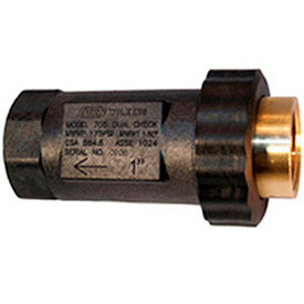 zurn 1ufx1f-705 1 in. union fnpt x fnpt dual check valve - 175 psi - lead-free cast bronze Zurn 1UFX1F-705 1 In. Union FNPT x FNPT Dual Check Valve - 175 PSI - Lead-Free Cast Bronze