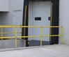 "Modular Hand Rail - 42"" Post - Collision Awareness HAND-42-POST, Hand Rail, Industrial Hand Rail, Modular Hand Rail, Collision Awareness, Collision Safety, Safety Products, Forklift Safety, Warehouse Safety, Collision Awareness, Dock Safety, Dock Awareness"