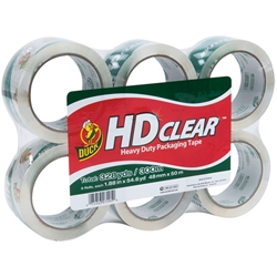 Duck Brand® HD Clear™ High-Performance Packaging Tape