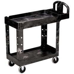 "Rubbermaid® Heavy-Duty Utility/Service Cart, 39""L x 33 1/4""H x 17 7/8""W"