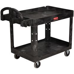 "Rubbermaid® Heavy-Duty Utility/Service Cart, 45 1/4""L x 33 1/4""H x 25 7/8""W"