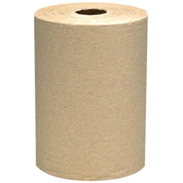 "VonDrehle® Preserve® Hardwound Towels, Natural, 12 Rolls/7 7/8"" x 350 ea"