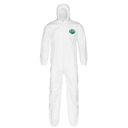 Lakeland MicroMax® NS Coveralls w/ Hood & Elastic Wrists & Ankles, 2X-Large, Vendor Packs, 50/Case