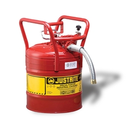 Justrite® Type II Dot Safety Can w/ Hose, 5 gal