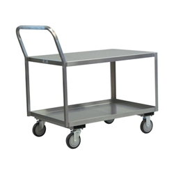Jamco Low-Profile Stainless Steel Service Cart