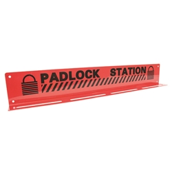 "TruForce™ Heavy-Duty Padlock Station, 20 Lock, 3 1/4"" x 20 3/4"""