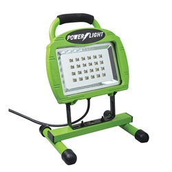 Ecozone® High Intensity LED Work Light w/ Rechargable Battery, Green