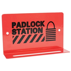 "TruForce™ Heavy-Duty Padlock Station, 5 Lock, 3 1/4"" x 5 1/2"""