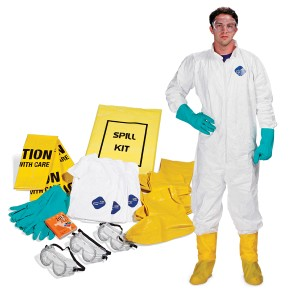 SpillTech PPE-KIT Personal Protection Spill Kit PPE-KIT, Spilltech, Absorbents, Sorbents, Industrial Safety, Spills, Cleanup, Spill Cleanup, PPE, Personal Protection Spill Kit